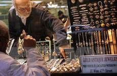 Vàng đã chấm dứt mạch tăng giá trong ba tuần liên tiếp