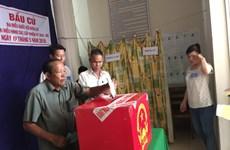 Tưng bừng ngày hội bầu cử sớm ở xã đảo Thổ Châu, Kiên Giang