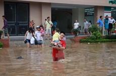 Hà Nội khẩn trương khắc phục ngập úng sau mưa lớn đột biến