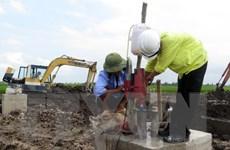 Sông Đà 11 thông tin chính thức về móng trụ điện nghi trộn đất