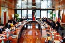 Đẩy mạnh việc đưa hàng hóa Việt Nam vào thị trường Italy