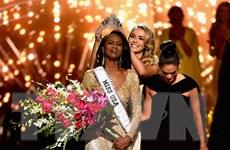 Nữ quân nhân đầu tiên đăng quang ngôi vị Hoa hậu Mỹ