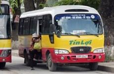 Hà Nội: Phát hiện, xử phạt hàng chục xe khách giả danh xe buýt