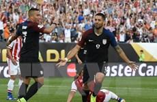 Vượt khó, Mỹ cùng với Colombia vào Tứ kết Copa America