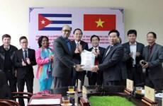 Việt Nam trao tặng món quà 5.000 tấn gạo cho nhân dân Cuba