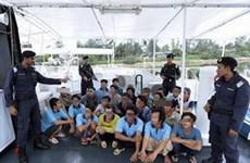 Malaysia bắt 23 ngư dân Việt Nam đánh cá tại biển Kelantan