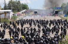 Mexico: Đụng độ giữa giáo viên và cảnh sát, gần 50 người thương vong