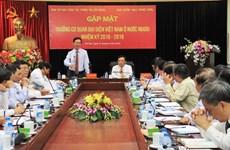 Gặp mặt các Trưởng Cơ quan đại diện Việt Nam ở nước ngoài