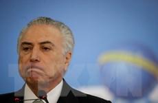 Tỷ lệ cử tri phản đối chính phủ lâm thời Brazil tăng nhanh