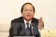 Ông Trương Minh Tuấn kiêm giữ chức Phó Trưởng ban Tuyên giáo TW