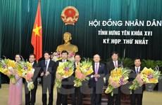 HĐND tỉnh Hưng Yên bầu ông Đỗ Xuân Tuyên làm Chủ tịch