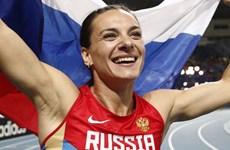 Nga công bố danh sách 68 vận động viên điền kinh dự Olympic