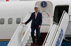 Ngoại trưởng Mỹ Kerry bắt đầu chuyến thăm chính thức Ukraine