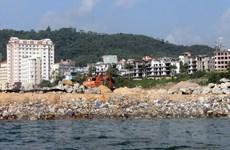 Quảng Ninh chủ trương lấn biển làm đường bằng hình thức đổi đất