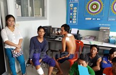 Ngư dân nghi bị mất tích ở vùng biển Thái Lan đã về đến Cà Mau