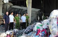 Bắc Ninh: Phát hiện doanh nghiệp đốt lò hơi bằng vải vụn