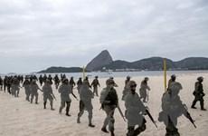 Brazil tăng cường an ninh phòng khủng bố trước thềm Olympic