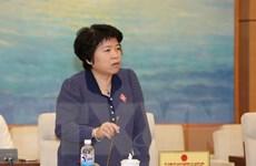 Bà Nguyễn Thúy Anh được bầu làm Chủ nhiệm Ủy ban về các vấn đề xã hội