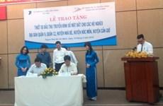 Hỗ trợ 2.100 đầu thu số mặt đất cho các hộ nghèo tại TP.HCM