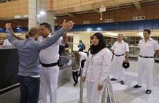 Đoàn chuyên gia Nga kiểm tra an ninh tại các sân bay của Ai Cập