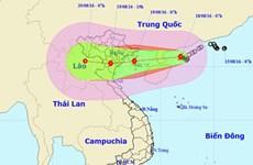 Bão số 3 sẽ ảnh hưởng đến các tỉnh từ Quảng Ninh đến Nghệ An
