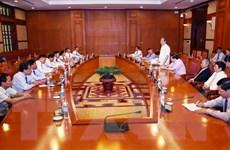 Thường trực Ban Bí thư gặp mặt Đoàn cán bộ Đảng bộ Ngoài nước