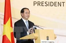 Chủ tịch nước dự Diễn đàn doanh nghiệp Singapore-Việt Nam