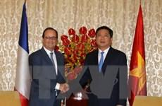 Ông Đinh La Thăng mong muốn Pháp duy trì ODA cho TP.HCM