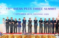 ASEAN+3 cam kết thúc đẩy hợp tác phát triển bền vững