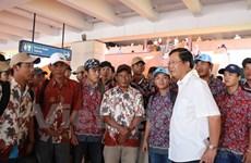 Indonesia và Việt Nam xúc tiến thực hiện trao trả ngư dân trên biển