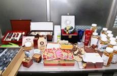 Bình Định: Thu giữ lô thực phẩm chức năng lậu trị giá 200 triệu đồng