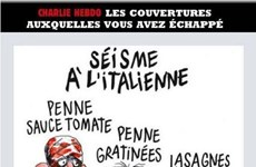 Người dân Italy kiện báo Charlie Hebdo vì một bức tranh gây sốc