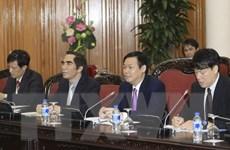 Phó Thủ tướng Vương Đình Huệ tiếp đoàn Liên minh kinh tế vùng Kansai