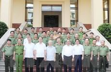 Tổng Bí thư Nguyễn Phú Trọng tham gia Ban thường vụ Đảng ủy Công an TW