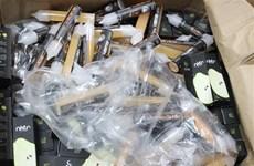 Hà Nội: Thu giữ hơn 350kg tinh dầu và thuốc lá điện tử nhập lậu
