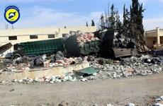 Đức kêu gọi tạm cấm mọi chuyến bay quân sự tại Syria