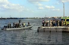 Số người thiệt mạng trong vụ lật tàu tại Ai Cập tăng lên 112 người