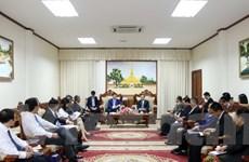 Việt-Lào tăng cường hợp tác ngành công thương và năng lượng