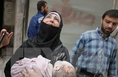 Gần 100 trẻ em thiệt mạng trong vòng 6 ngày qua tại Aleppo