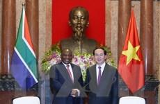 Việt Nam coi Nam Phi là đối tác hàng đầu ở khu vực châu Phi