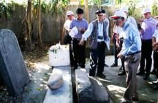 Thám sát khảo cổ học thăm dò dấu vết lăng mộ vua Quang Trung