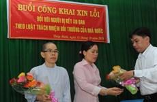 Đồng Tháp: Xin lỗi công khai hai chị em bị kết án oan từ năm 2000