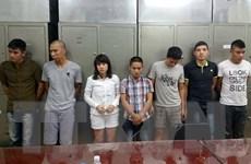 Hà Nội: Tạm giữ 7 đối tượng cầm đầu ổ nhóm đánh bạc quy mô lớn