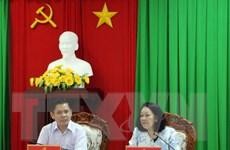 Đoàn công tác của Bộ Chính trị làm việc tại tỉnh Sóc Trăng