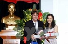 Trao giải cuộc thi Phóng viên trẻ Pháp ngữ - Việt Nam 2016