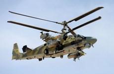 Phát hiện trực thăng tuyệt mật của Nga trên bầu trời Syria