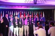 Đội tuyển golf Việt Nam chiến thắng ở WAGC 2016 tại Nam Phi
