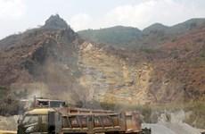 Mỏ đá trái phép cách trụ sở UBND hơn 1km, lãnh đạo không hay biết