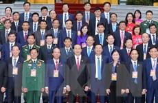 Chủ tịch nước Trần Đại Quang gặp mặt đại biểu tiêu biểu ngành than