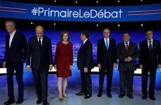 Pháp: Bảy ứng cử viên cánh hữu tranh luận lần hai trên truyền hình